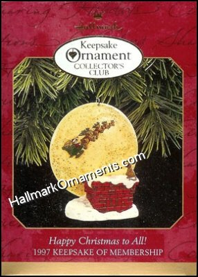 1997 Happy Christmas to All!, The Night Before Christmas, Club Ornament