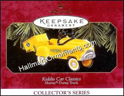 1997 Murray Dump Truck, Kiddie Car Classics #4