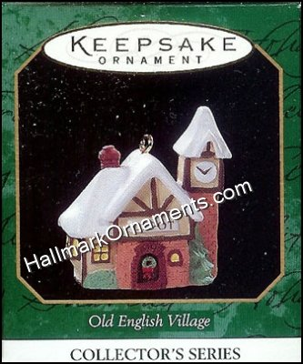 1997 Old English Village #10, Miniature