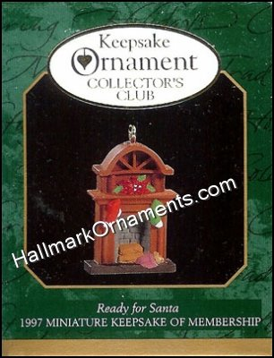 1997 Ready for Santa, Miniature