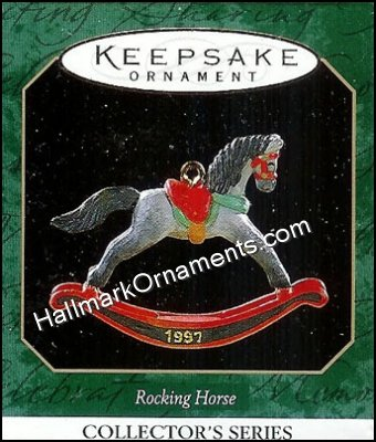 1997 Miniature Rocking Horse #10