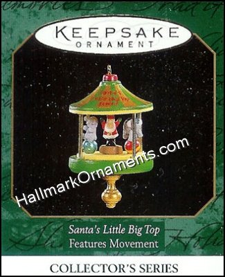 1997 Santa's Little Big Top #3, Miniature