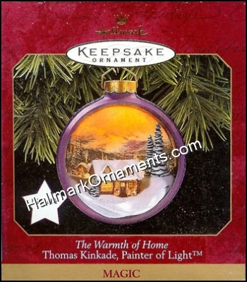 1997 Warmth of the Home, Thomas Kinkade, Magic