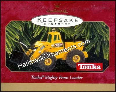 1997 Tonka Mighty Front Loader, Tonka