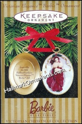 1997 Victorian Elegance Barbie Ornament