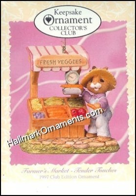 1997 Farmer's Market, Tender Touches, Club Ornament