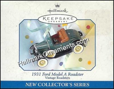 1998 1931 Ford Model A Roadster, Vintage Roadsters #1 - DB