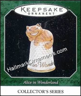 1998 Cheshire Cat, Alice in Wonderland  #4, Miniature