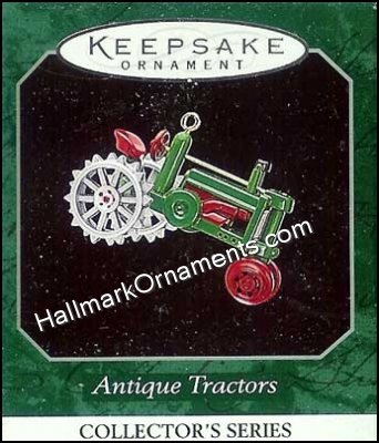 1998 Antique Tractors #2, Miniature