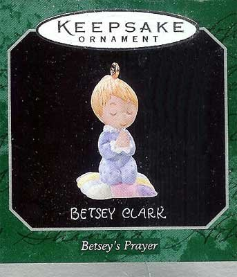 1998 Betsey's Prayer, Miniature