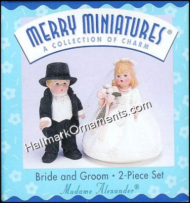 1998 Bride and Groom, Madame Alexander