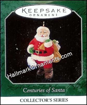1998 Centuries of Santa #5, Miniature
