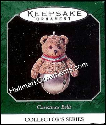 1998 Christmas Bells #4, Bear, Miniature