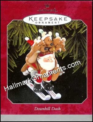 1998 Downhill Dash, Reindeer Quartet