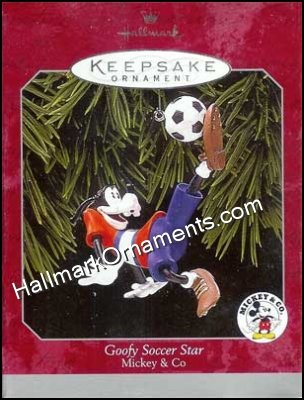 1998 Goofy's Soccer Star, Mickey and Co, Disney