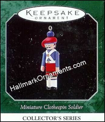 1998 Miniature Clothespin Soldier #4