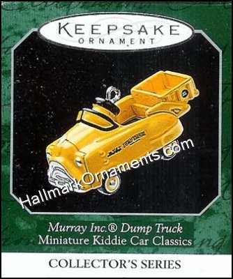 1998 Murray Dump Truck, Miniature Kiddie Car Classics #4