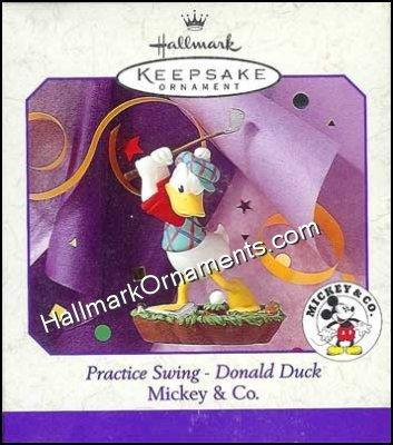 1998 Practice Swing - Donald Duck, Disney, Golf