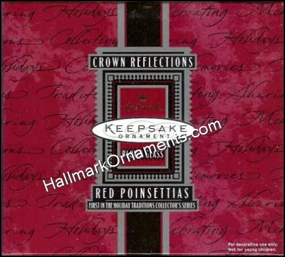 1998 Red Poinsettias, Holiday Traditions #1