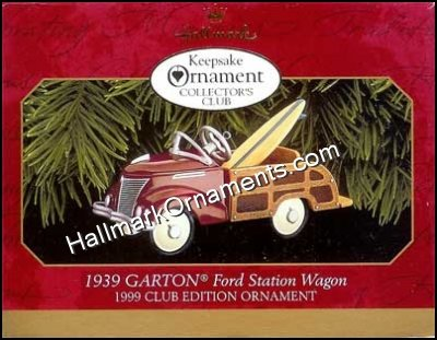 1999 1939 Garton Ford, Kiddie Car Classics, Club Ornament