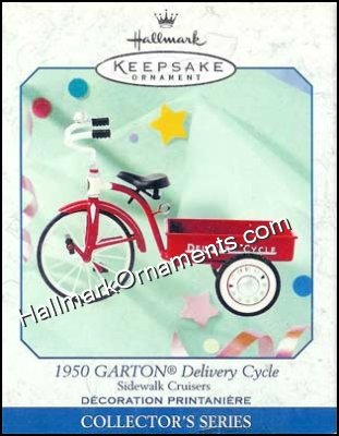 1999 1950 Garton Delivery Cycle, Sidewalk Cruisers #3