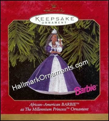 1999 Millennium Princess Barbie, Af-Am