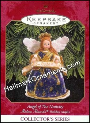 1999 Angel of The Nativity, Madame Alexander Holiday Angels #2