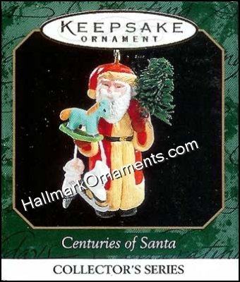 1999 Santa with Tree & Toys, Centuries of Santa #6