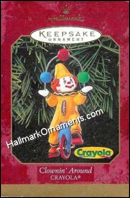 1999 Clownin' Around, Crayola
