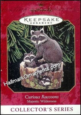 1999 Curious Raccoons, Majestic Wilderness #3