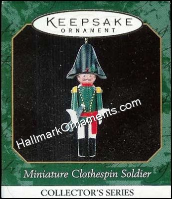 1999 Miniature Clothespin Soldier #5