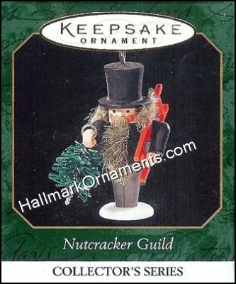 1999 Nutcracker Guild  #6, Sled & Tree