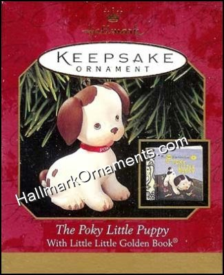 1999 The Poky Little Puppy, Little Golden Book