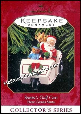1999 Santa's Golf Cart, Here Comes Santa #21