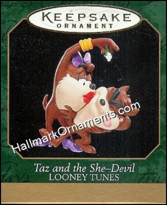 1999 Taz and the She-Devil, Looney Tunes, Miniature