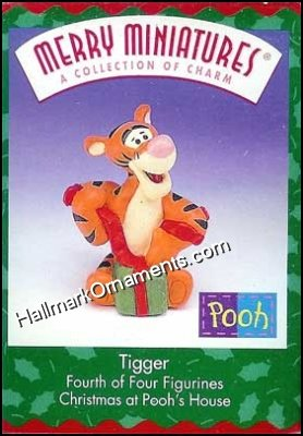 1999 Merry Miniatures - Tigger, Winnie the Pooh