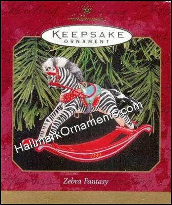1999 Zebra Fantasy, Rocking Horse Complement