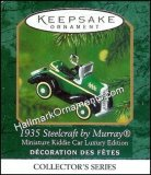 2000 1935 Steelcraft by Murray, Miniature Kiddie Car Luxury Edition #3
