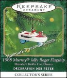2000 1968 Murray Jolly Roger, Miniature Kiddie Car Classics #6
