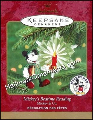 2000 Mickeys Bedtime Reading, Mickey & Co, Disney - DB