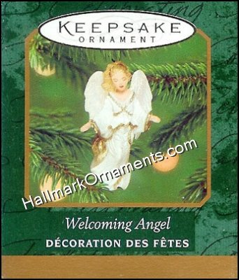 2000 Welcoming Angel, Miniature