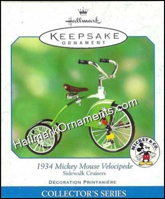 2001 1934 Mickey Mouse Velocipede, Sidewalk Cruisers #5