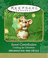 2001 Sweet Contribution, Cooking for Christmas