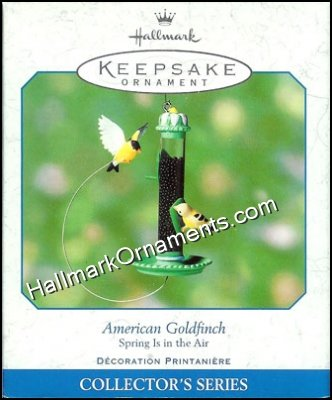 2001 American Goldfinch, Spring is in the Air #2