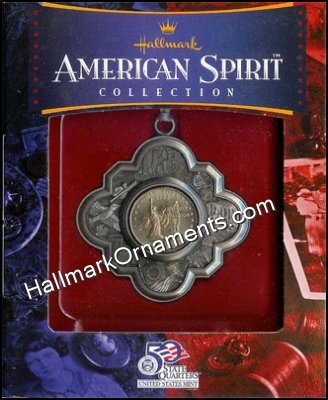 2001 American Spirit, State Quarters, New York