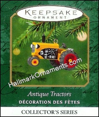 2001 Antique Tractors #5, Miniature