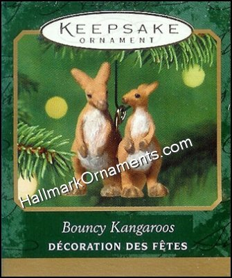 2001 Bouncy Kangaroos, Noah's Ark, Miniature