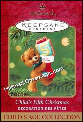 2001 Childs Fifth Christmas, Child's Age