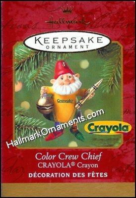2001 Color Crew Chief, Crayola