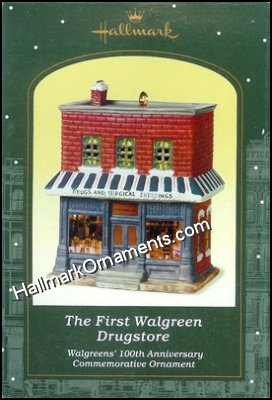 2001 The First Walgreen's Drugstore, Nostalgic Houses and Shops Compliment